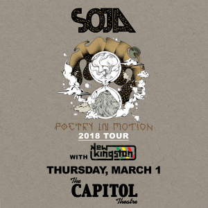 Soja Poetry in Motion Tour